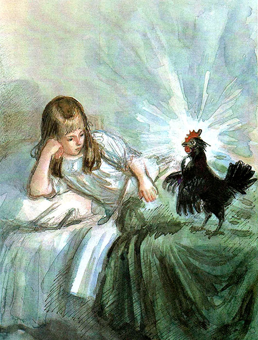 The Little Black Hen, or The Underground People