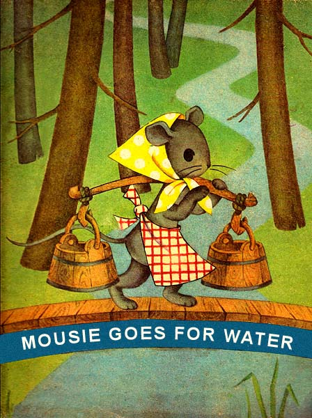 Mousie Goes for Water Lithuanian Rhymes