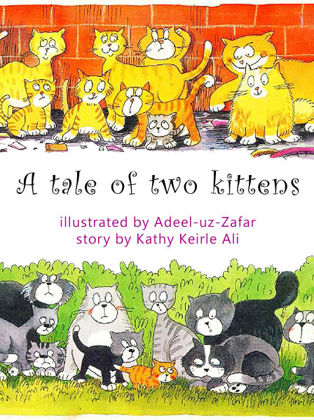 A Tale Of Two Kittens Kathy Keirle Ali