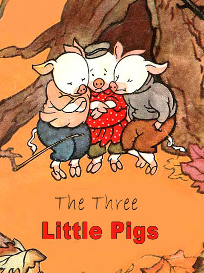 The Three Little Pigs Steel F.A.